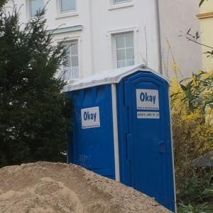 okay toilette mobil Baustelle