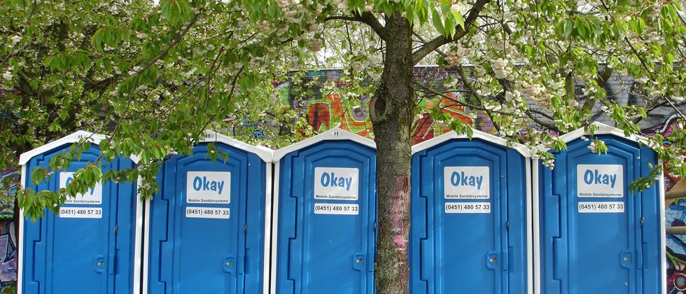 Norddeutschland okay miettoiletten mobil Sanitärsysteme